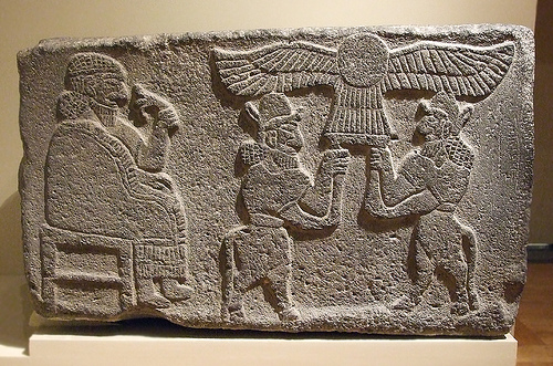 Babylonian winged disc