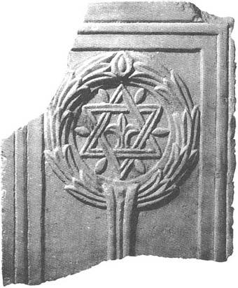 Solomon's seal in a Christian church