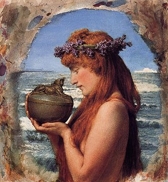 "Pandora's ""box"" is a mistranslation; it should have been translated as a ""jar""."