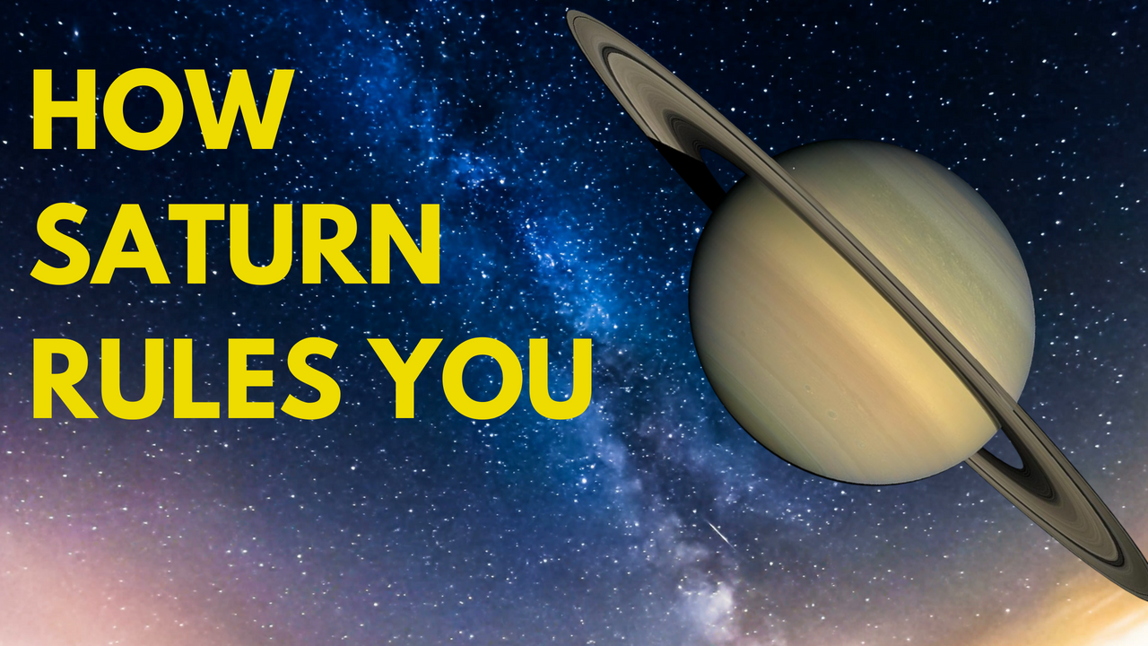 How Saturn and Other Planets Rule Over You