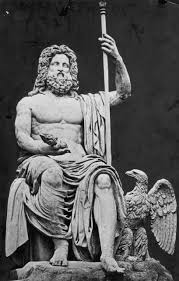 Roman god Jupiter - the father of gods