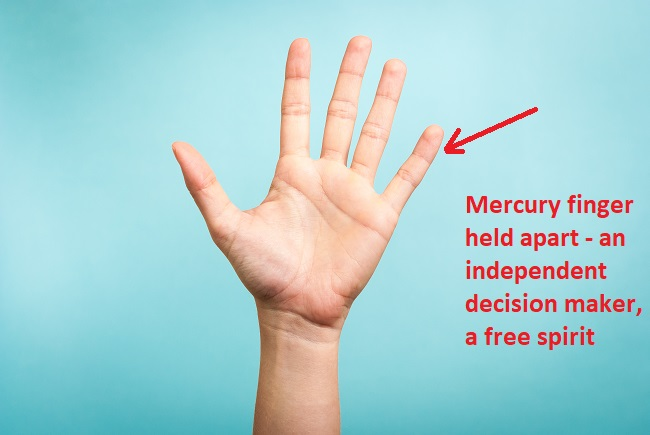 Separate Mercury finger